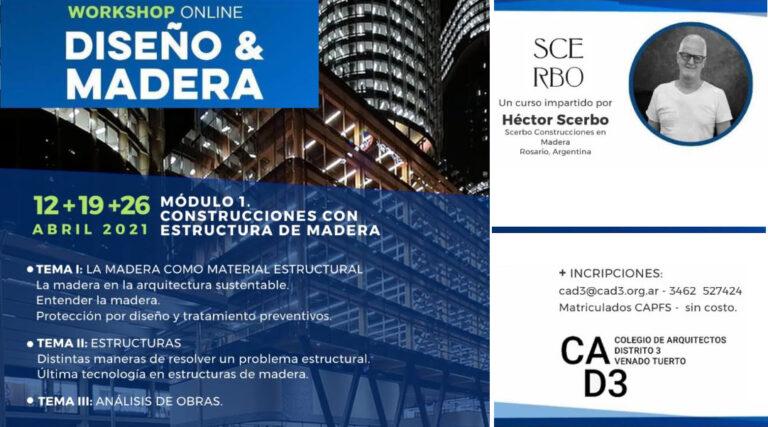 CURSO CONSTRUCCIONES CON ESTRUCTURA DE MADERA