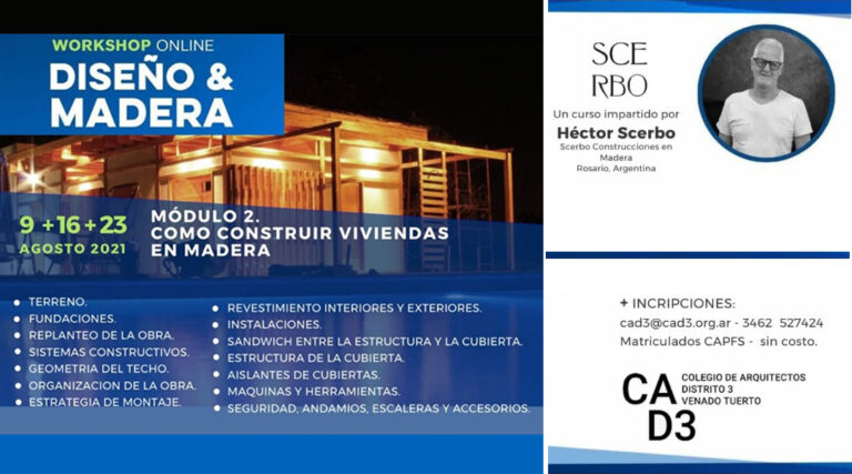 DISEÑO Y MADERA: COMO CONSTRUIR VIVIENDAS EN MADERA.